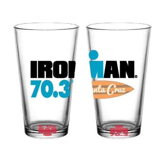 IRONMAN 70.3 SANTA CRUZ EVENT PINT GLASS
